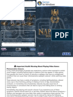 Napoleon Total War Game Manual