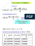 06 Numerical Differentiation Integration