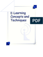 E-Learning Concepts and Techniques, by Bloomsburg University of Pennsylvania's Department of Instructional Technology