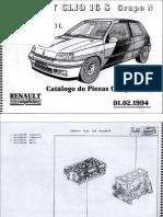 Clio 16v - Catalogo Despiece