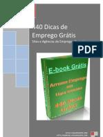 440 Formas de Conseguir Empregos Grátis