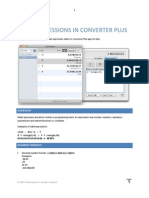 Converter Plus Expressions