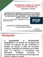 Biodigestaão Anaeróbia