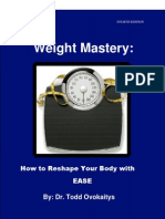 Dr Todds Weight Mastery Guide