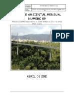 Informe Mensual Ambiental n 9