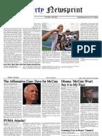 Libertynewsprint 10-9-08 Edition