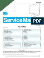 AOC+Service+Manual HP 2009v A00+Monitor+Lcd