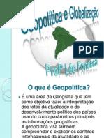GEOPOLÍTICA E GLOBALIZACAO