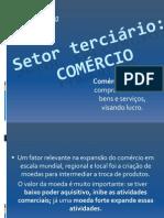 SETOR TERCIÁRIO