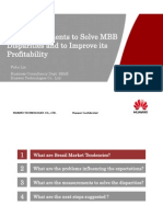 Six Measurements to Improve MBB Profitability