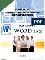 01 Introduccion de Word 2010