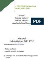 Asal Usul Bahasa Melayu