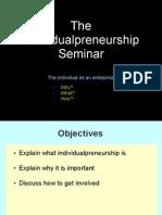 The Individualpreneurship Seminar