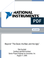 Beyond the Good the Bad and the Ugly
