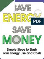 Ahorra energía Ahorra dinero