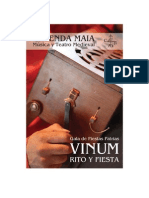 Programa Gala Calenda Maia Vinum Rito Y Fiesta