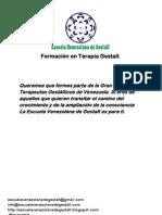 Formación en Terapia Gestalt Escuela Venezolana de Gestalt