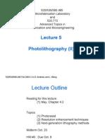 PhotolithographyII