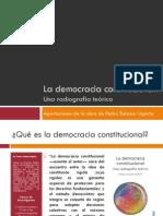 La Democracia Constitucional