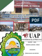 Herramientas Para La Gestin de La Bio Divers Id Ad en Paracas.2