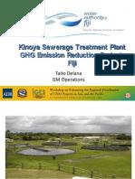 Kinoya Sewerage Treatment Plant Project
