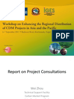 Report on Day1 Preworkshop Project Consultations