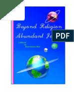 Beyond Religion Abundant Joy