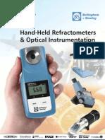 OPTi - New Digital Hand Refratometers