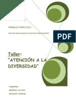 TALLER atención a la Diversidad (Evaluación-Conductas pro-sociales)