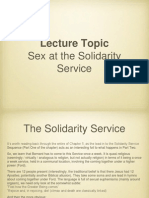 The Solidarity Service