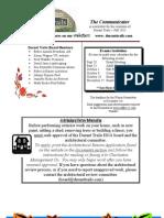 September 2011 Fall Newsletter