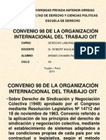 6. CONVENIO 98 DE LA ORGANIZACIÓN INTERNACIONAL-DERECHO-Robert Armas