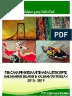 RPTL PLN Kalselteng 2010-2019
