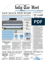 The Daily Tar Heel for September 13, 2011
