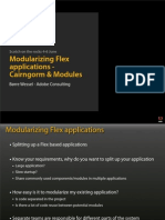 Modularizing Flex Cairngorm and Modules