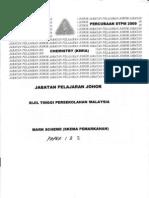 Stpm Trial Chem 09 p12 Ans Johor