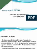 Manejo Del Colera