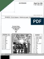 Blaupunkt Opel Car300 Service Manual