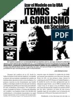 Derrotemos al Gorilismo en Sociales - La Vallese