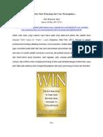 WIN - Karakter Para Pemenang Dan Cara Mencapainya