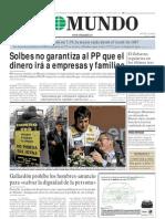 Portada El Mundo 10-Octubre 2008