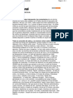Articulo de Arturo Perez Reverte -Cuatro Minutos- XLsemanal