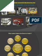 Gujarat – The New Global Automobile Manufacturing Hub