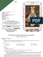SMP Beatrice Bunny