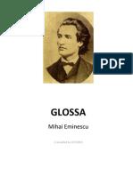 9245801-Glossa-Mihai-Eminescu