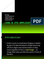 Lens & Its Applications