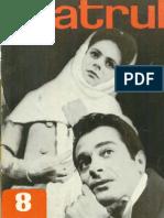 Revista Teatrul, nr. 8, anul XIII, august 1968