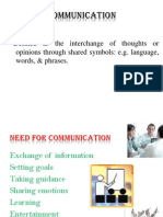 Communication Copy