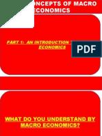 Part i 1 Introduction Macro Economic 512011