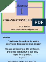 Orgnization Behavior an Introduction
